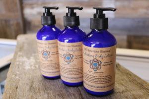 CBD American Shaman body lotion pump