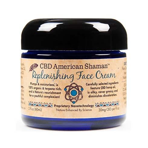 CBD American Shaman Replenishing Face Cream