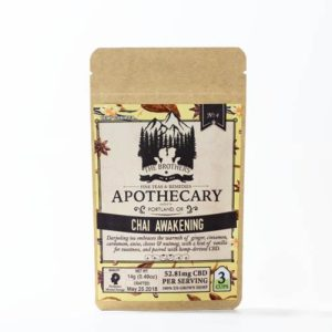 The brothers apothecary CBD tea remedy with Chai Awakening CBD tea