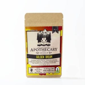 The brothers apothecary Golden dream hemp CBD tea
