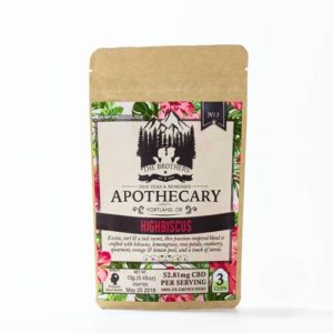 The brothers apothecary highbiscus CBD tea