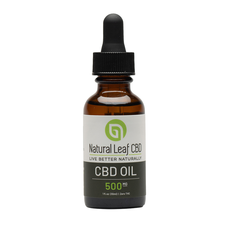 Natural Leaf 500mg CBD Oil