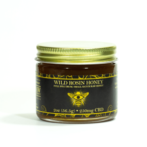The Brother's Apothecary Wild Rosin Honey with 250 mg CBD