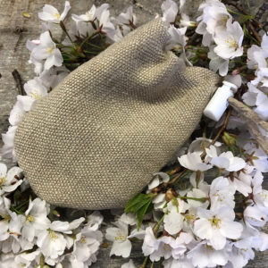 Locally made hemp tincture bag
