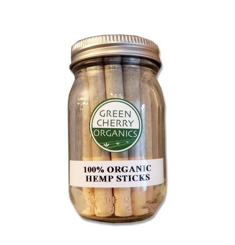 green cherry hemp sticks